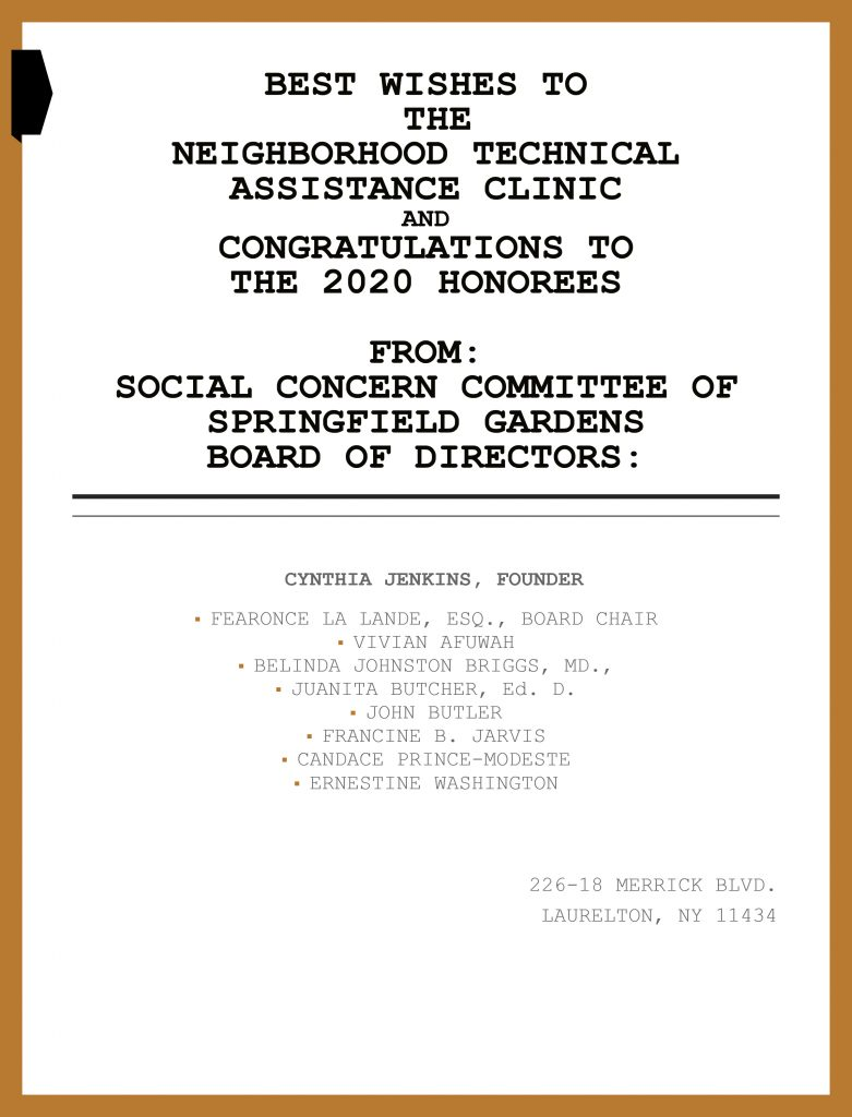 social-concern-committee